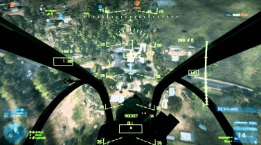 Battlefield 3 Helicopter Gameplay (almost full round)