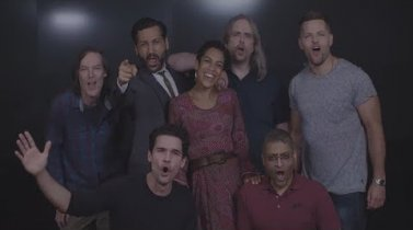 "Cast and crew of The Expanse ""Thank You"" video - #TheExpanseLives"