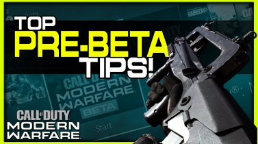 Top Modern Warfare Beta Tips! (Get the Most out of the Beta!)